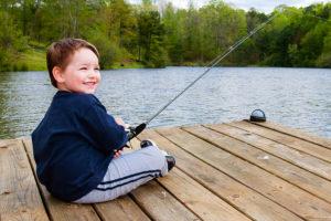 tips for taking kids fishing