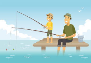 mentoring - teaching a child to fish